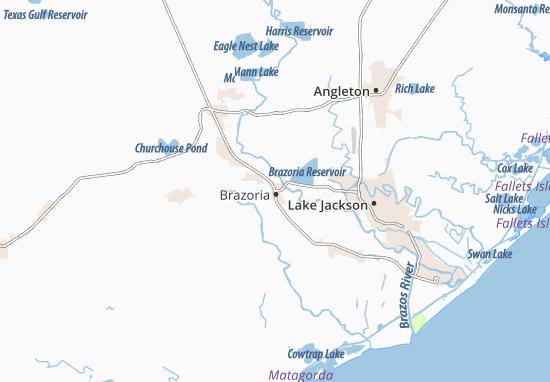 Brazoria Map