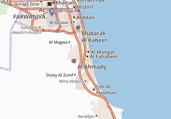 Carte-Plan Al Fahaheel 5