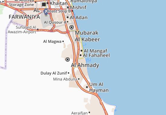 Carte-Plan Al Fahaheel 12