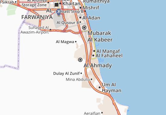 Carte-Plan Al Ahmady City 3