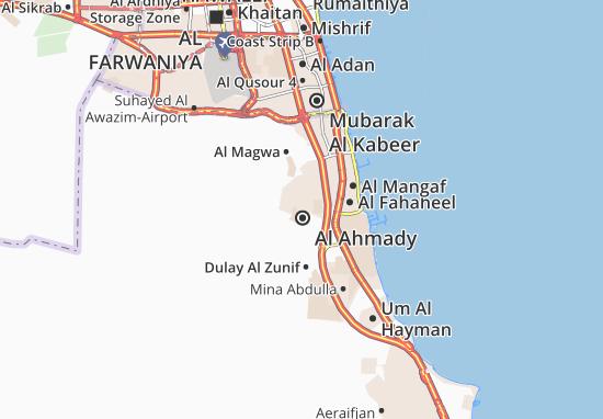 Carte-Plan Al Ahmady City 0