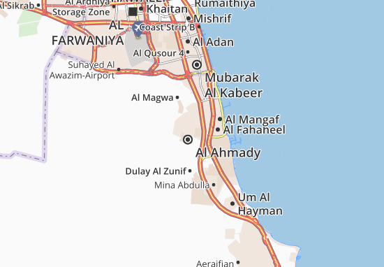 Carte-Plan Al Ahmady City 2