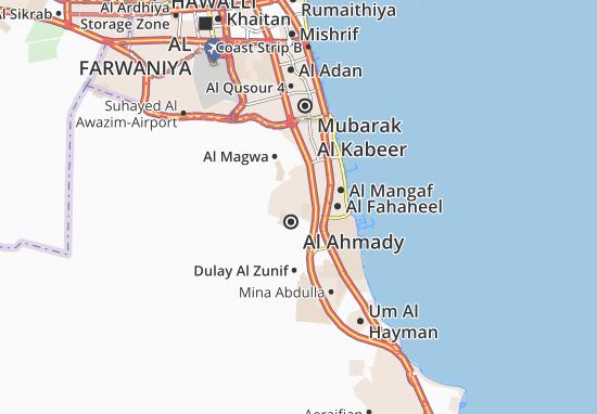 Carte-Plan Al Ahmady City 5