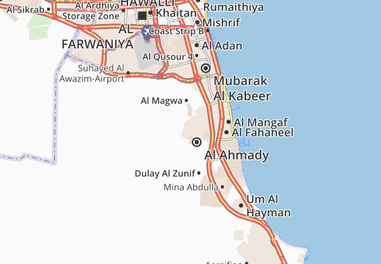 Carte-Plan Al Ahmady City 8