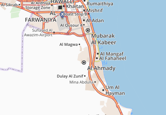 Carte-Plan Al Ahmady City 7