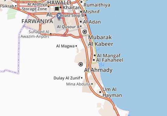 Carte-Plan Al Ahmady City 12