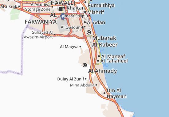 Carte-Plan Al Ahmady City 11