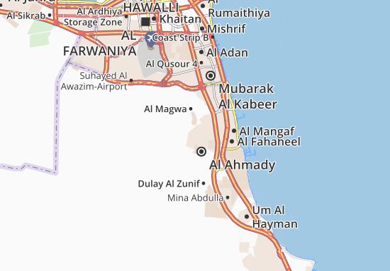 Carte-Plan Al Ahmady City 9