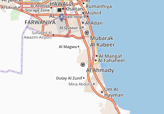 Carte-Plan Al Ahmady City 14