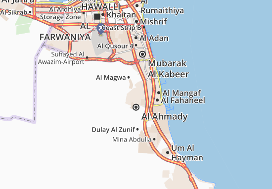 Carte-Plan Al Ahmady