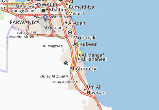 Mappe-Piantine Al Mangaf
