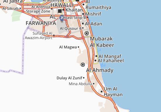 Carte-Plan Al Ahmady City 13
