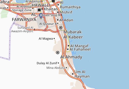 Kaart Plattegrond Al Sabahiya