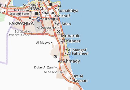 Carte-Plan Abu Halifa 1