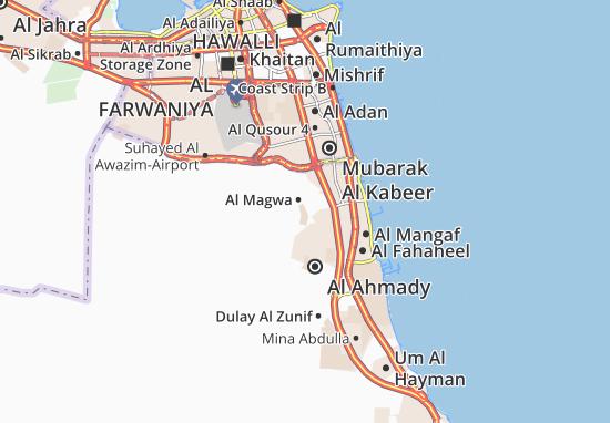 Mappe-Piantine Al Magwa