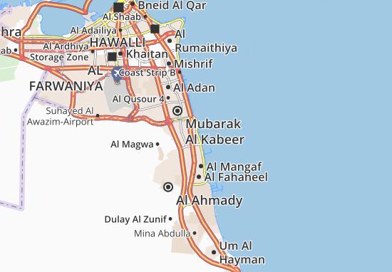 Mappe-Piantine Al Mahboula