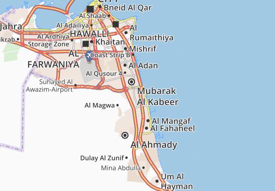 Al Egaila 6 Map