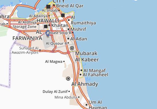 Al Fintas 3 Map