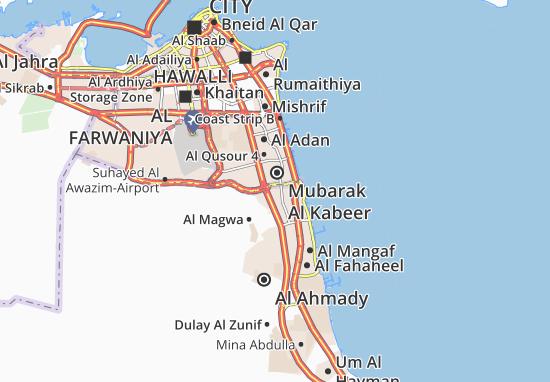Jaber Al Ali Map