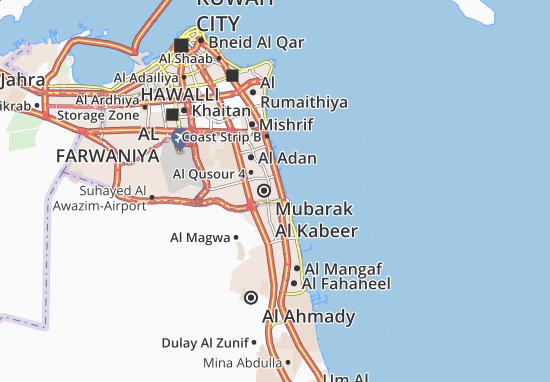 Carte-Plan Abu Ftaira