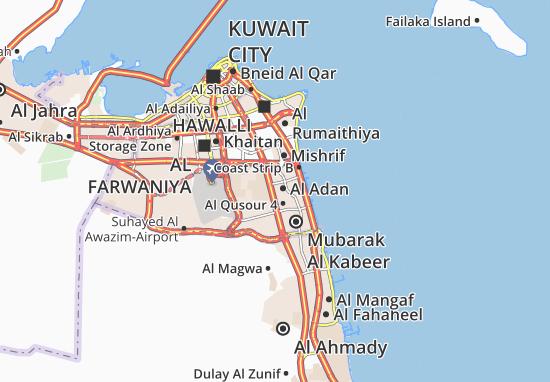 Carte-Plan Al Adan 2