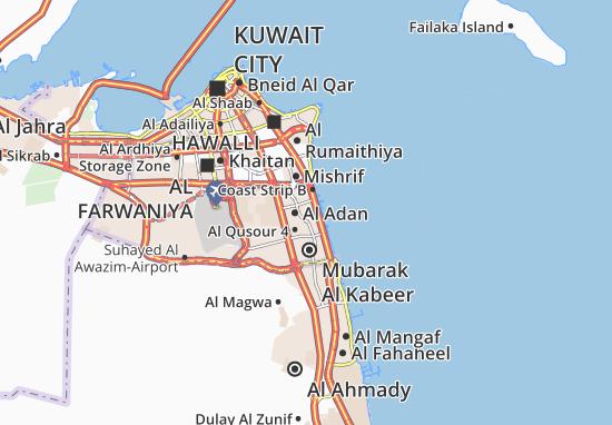 Carte-Plan Al Adan 7
