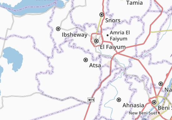 Mapa Atsa