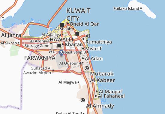 Carte-Plan Al Adan 1