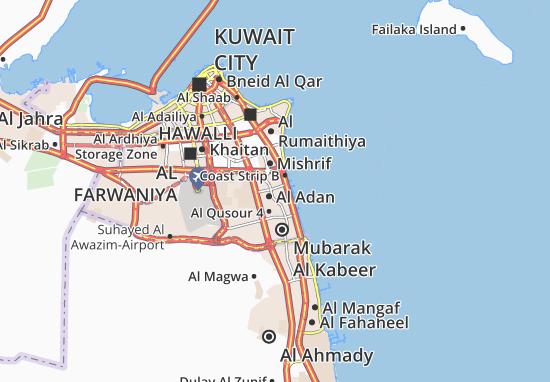 Carte-Plan Al Adan 8