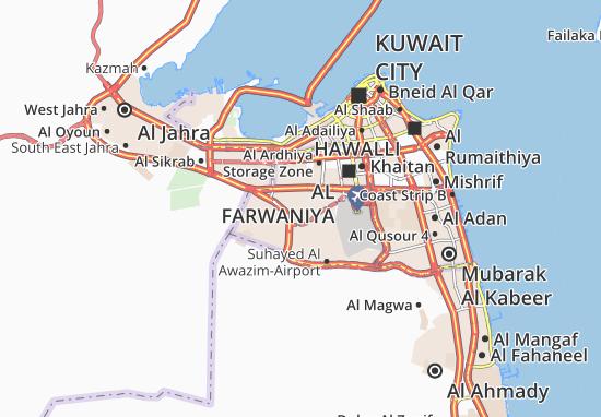 Carte-Plan Abdullah Al Mubarak-West Jleeb 5
