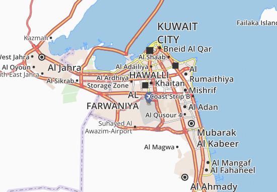 Carte-Plan Jleeb Al Shiyoukh