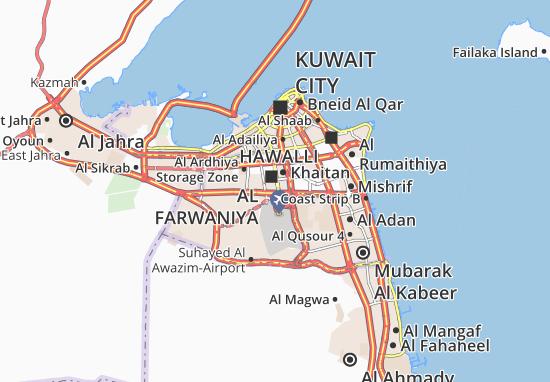 Al Farwaniya 6 Map