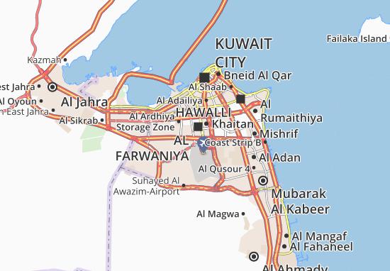 Mappe-Piantine Al Farwaniya 5