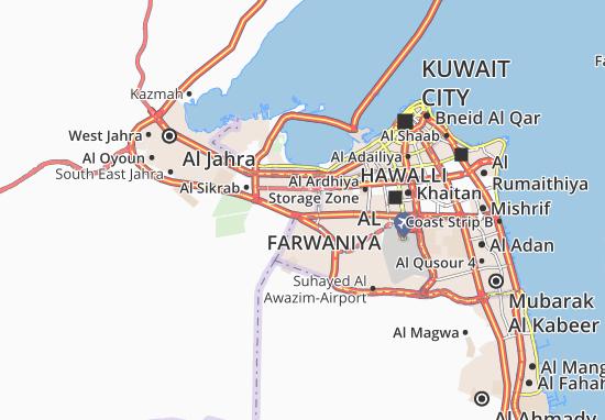 Carte-Plan Al Sulaibiya Industrial 2