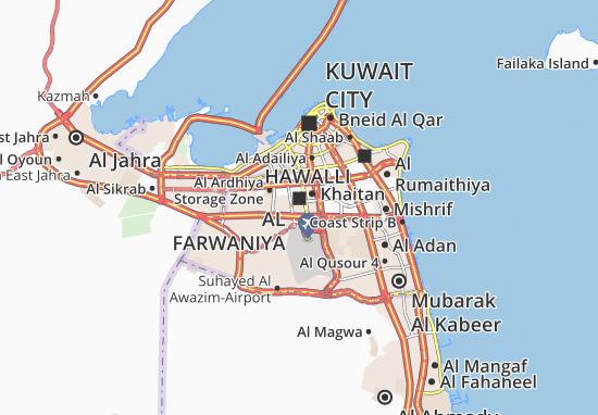 Mappe-Piantine Al Farwaniya 4