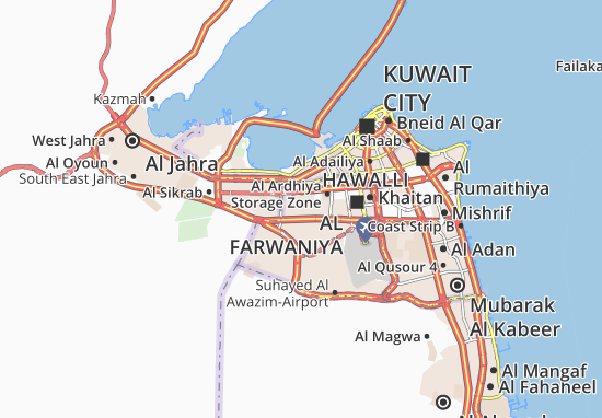 Carte-Plan Al Ardhiya 11