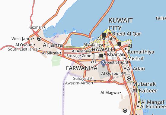 Kaart Plattegrond Al Ferdous