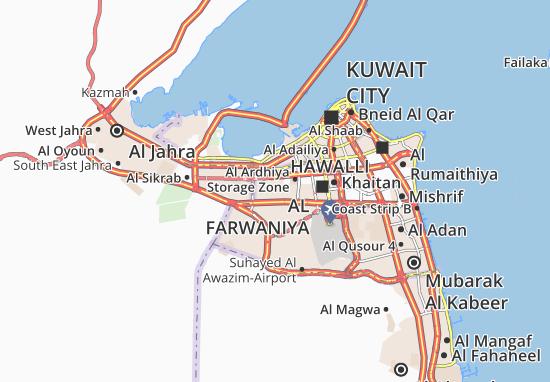 Carte-Plan Al Ardhiya 9