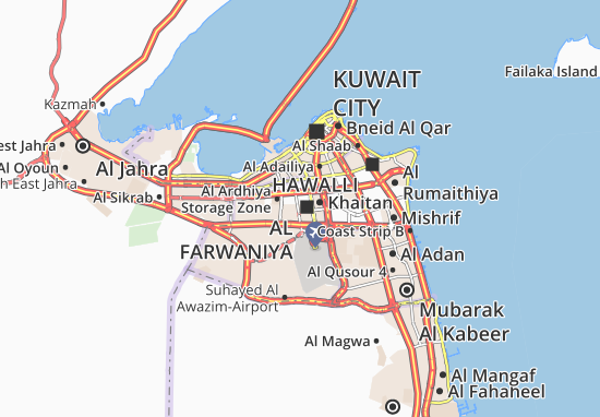 Al Farwaniya 2 Map