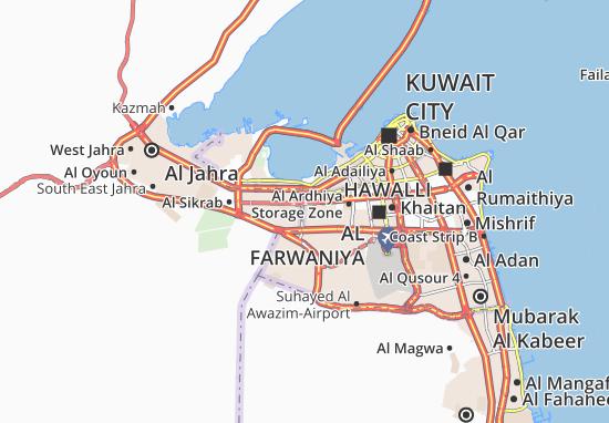 Kaart Plattegrond Al Ferdous 2