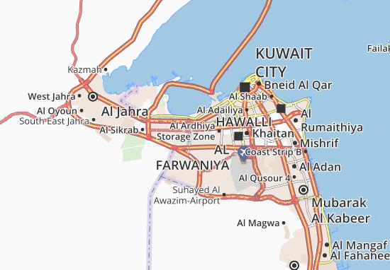 Al Ferdous 7 Map