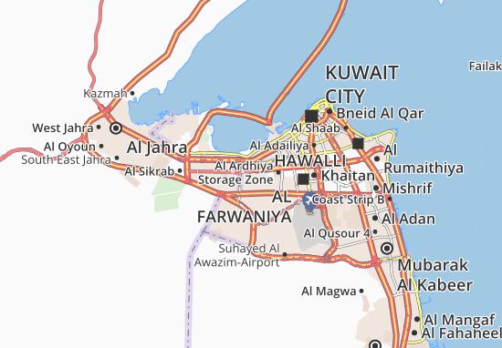 Carte-Plan Al Ardhiya 5