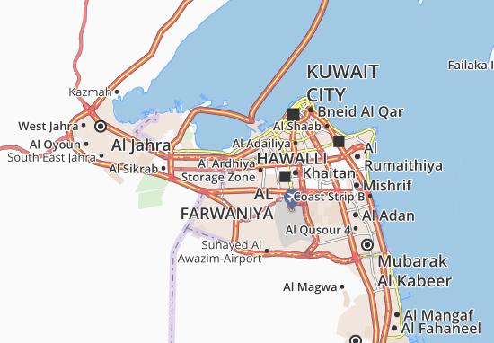 Carte-Plan Al Ardhiya 1