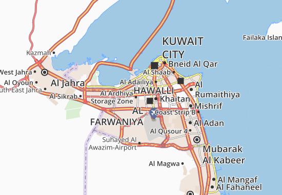 Al Rabiya Map