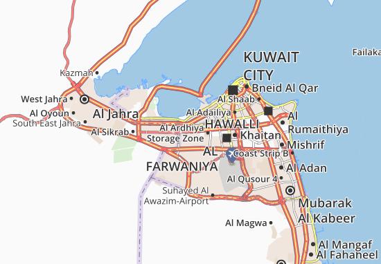 Carte-Plan Al Ardhiya 3