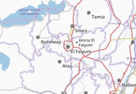 Mappe-Piantine El Faiyum