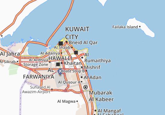 Al Rumaithiya Map