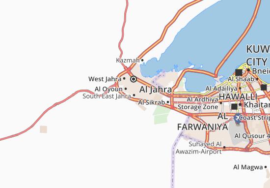 Kaart Plattegrond Al Nasseem 4