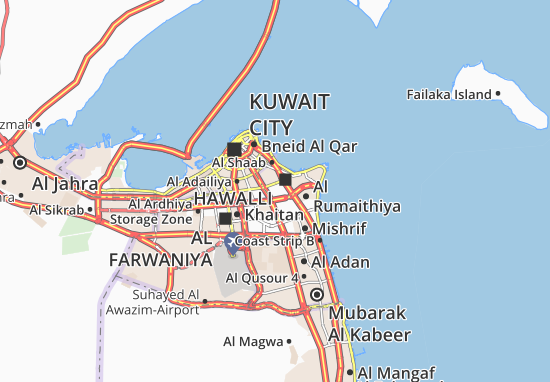 Mapas-Planos Al Jabriyah