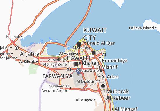 Carte-Plan Al Adailiya 2